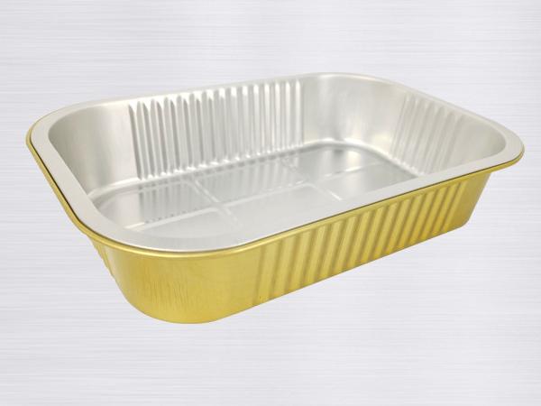 金色铝箔容器-BTY220