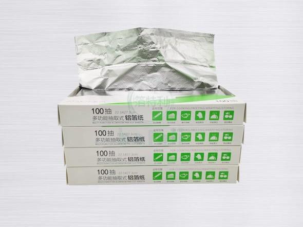 铝箔抽纸-BTL100抽