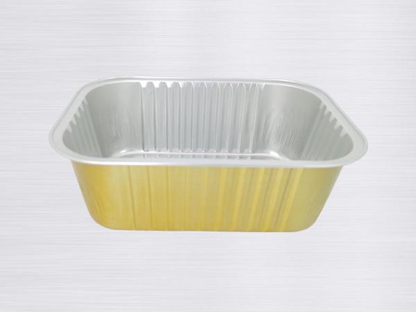 金色铝箔容器-BTY161