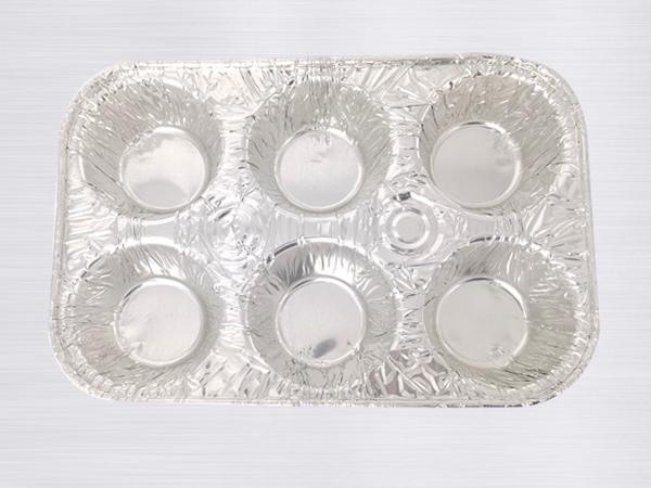 铝箔六格甜点盒BTL6-2517