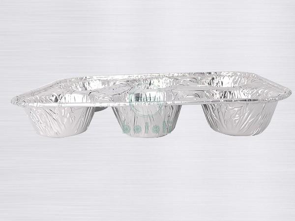 铝箔六格甜点盒